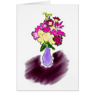 Bright Bouquet card