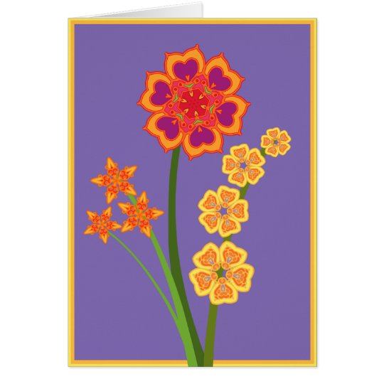 Bright Bouquet Card