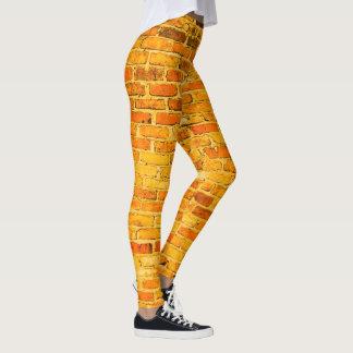 Bright Brick Built Leggings