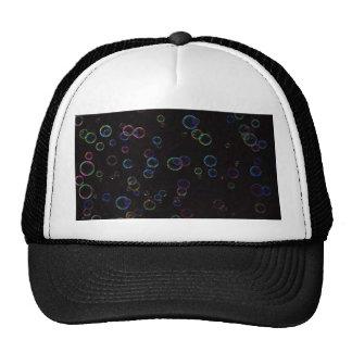 Bright bubbles trucker hat
