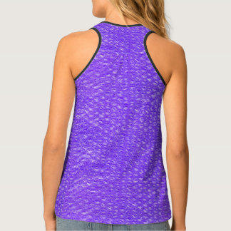 Bright Bubbly Purple Soda Drink Bubble Wrap Tank Top