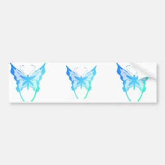 Bright Butterflies Bumper Sticker