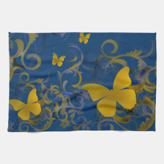 Bright Butterflies Kitchen Towel