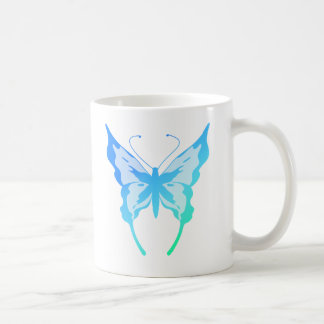 Bright Butterfly Classic White Coffee Mug