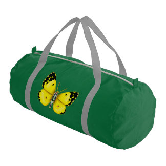 Bright Butterfly Gym Bag