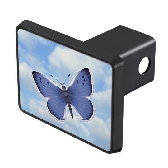 Bright Butterfly Tow Hitch Covers