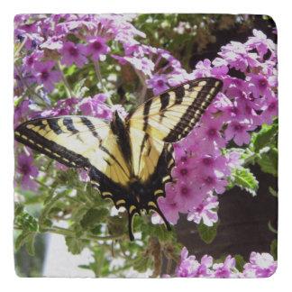 Bright butterfly trivet