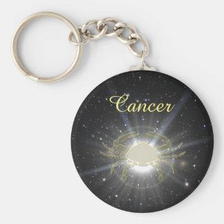 Bright Cancer Basic Round Button Keychain