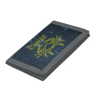 Bright Cancer Tri-fold Wallets