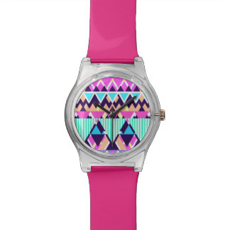 Bright Candy Native Pattern Wristwatches