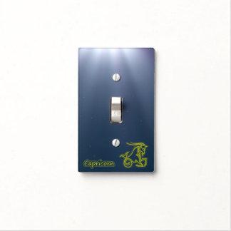 Bright Capricorn Light Switch Cover
