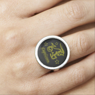 Bright Capricorn Photo Rings