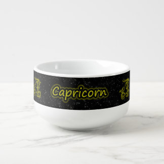 Bright Capricorn Soup Mug