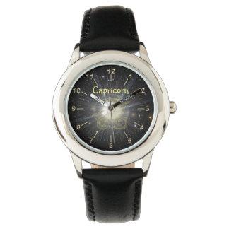 Bright Capricorn Wrist Watch