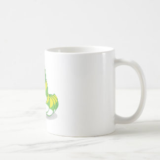 bright caterpillar worm coffee mug