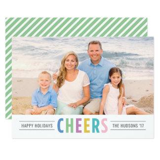 Bright Cheers | Happy Holidays Photo Card