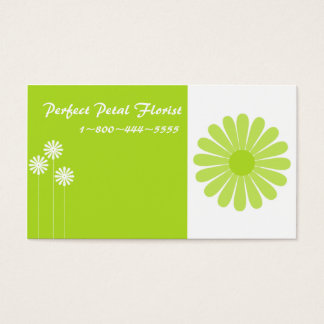 Bright Cheery Floral Business Cards