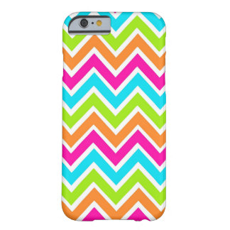 Bright Chevron Designer Zig Zag Pattern Barely There iPhone 6 Case