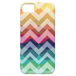 Bright Chevron Scallop Summer Pattern iPhone 5 iPhone 5 Cases
