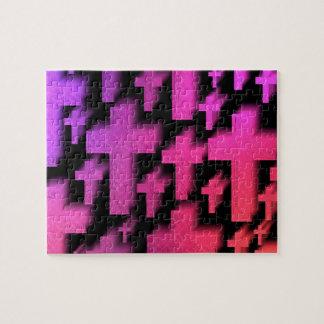Bright Christian crosses Jigsaw Puzzle