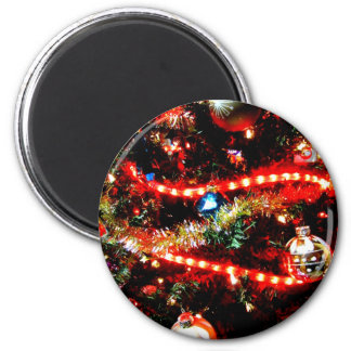 Bright Christmas Tree Trimmings Magnet