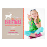 Bright Christmas Wishes Photo Card | Sand Custom Invites