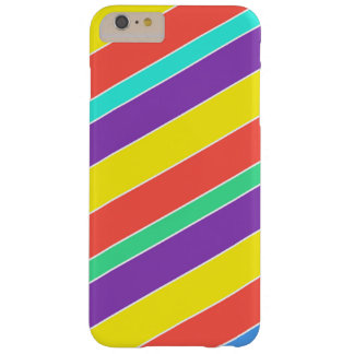 Bright Circus Color Stripes Barely There iPhone 6 Plus Case