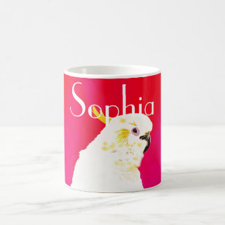 Bright Cockatoo Bird Coffee Mug