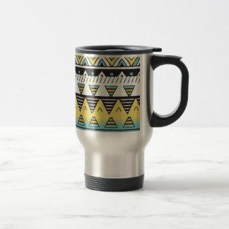 Bright Color Aztec Travel Mug