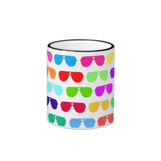 Bright Colored Summer Sunglasses Mugs