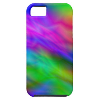 Bright colorful abrstract neon image case for the iPhone 5