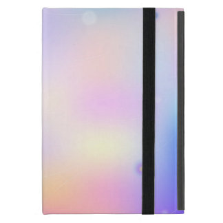 Bright colorful abstract print cover for iPad mini