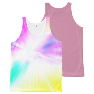 Bright Colorful All-Over Printed Unisex Tank