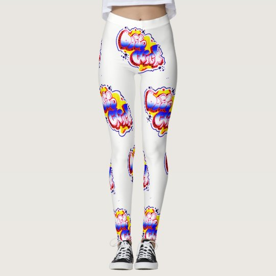 BRIGHT & COLORFUL BOSS CHICK LEGGINGS