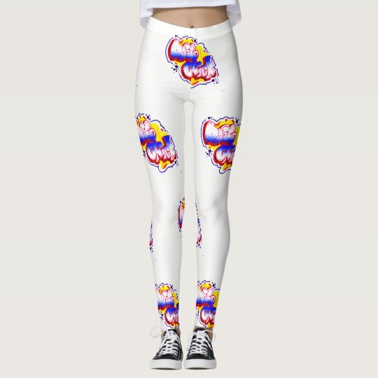 BRIGHT & COLORFUL BOSS CHICK tee Leggings