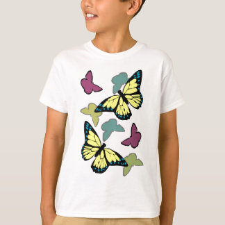 Bright colorful butterflies T-Shirt