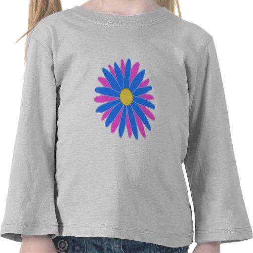 Bright Colorful Flower. Tshirt