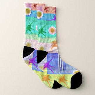 Bright Colorful large Socks