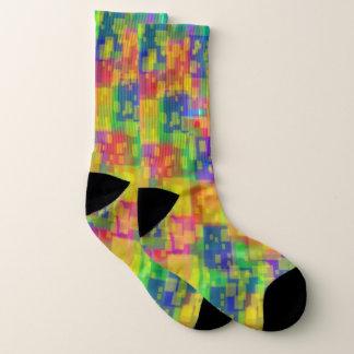 Bright Colorful Large Socks 1