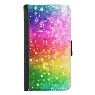 Bright Colorful Modern Bokeh Glitter