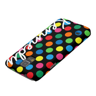 Bright Colorful Polka Dots Galaxy S5 Cases