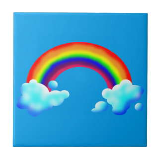 Bright & Colorful Rainbow Tile