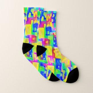 Bright Colorful Socks 1