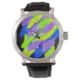Bright Colorful Wristwatches