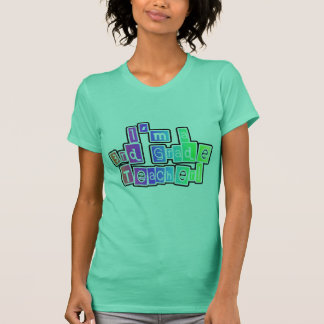 Bright Colors 3rd Grade Teacher T-Shirt