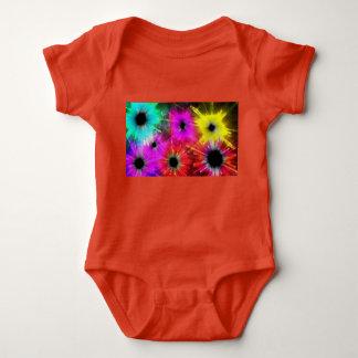 bright colors baby bodysuit