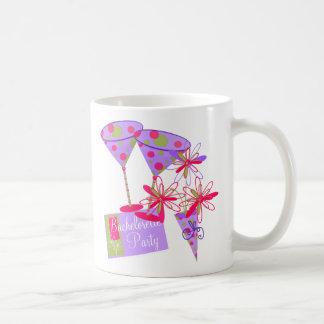 Bright Colors Bachelorette Party Basic White Mug