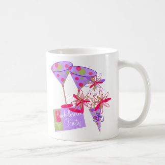 Bright Colors Bachelorette Party Mugs