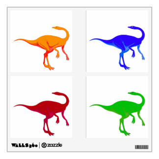 Bright Colors Dinosaurs Wall Sticker