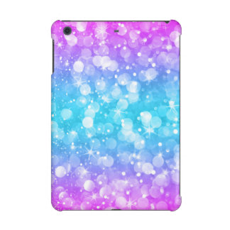 Bright Colors Modern Bokeh Glitter iPad Mini Retina Cover